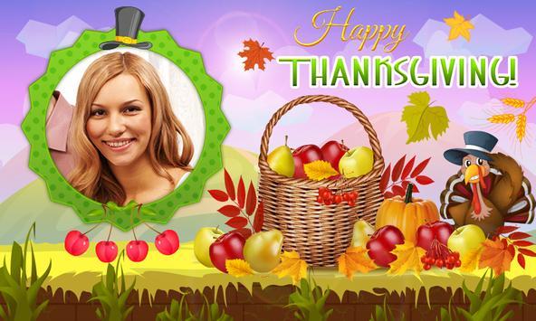 Happy ThanksGiving photo frame apk screenshot