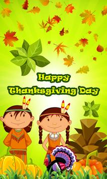 Happy Thanksgiving greeting HD poster