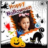 Happy Halloween photo frame icon