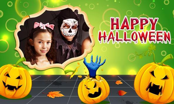 Happy Halloween photo frame poster