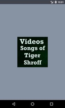 Videos Songs Of Tiger Shorff poster