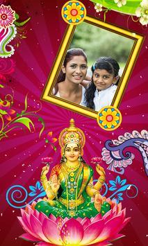 Laxmi Puja photo fames poster