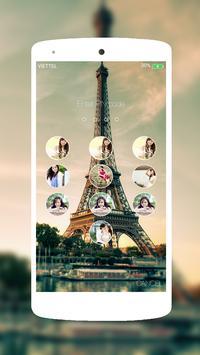Photo Keypad Lockscreen IOS 9 poster