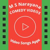 M S Narayana Comedy Videos icon