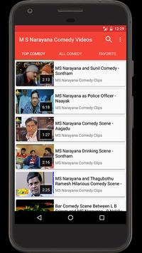 M S Narayana Comedy Videos poster