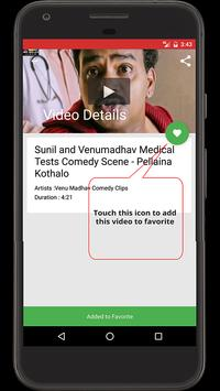 Venu Madhav Comedy Videos apk screenshot