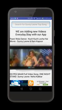 Sunny Leone Video Songs apk screenshot