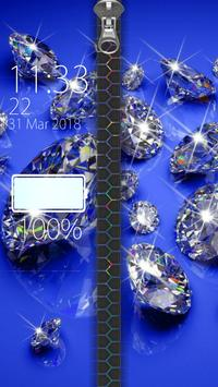 Diamond Zipper Lock screenshot 5