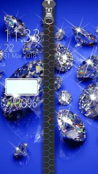 Diamond Zipper Lock screenshot 9