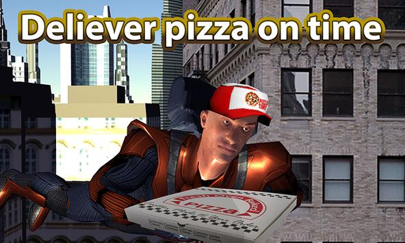 Flyingman Pizza Delivery Sim poster