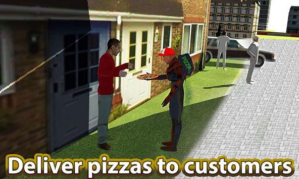 Flyingman Pizza Delivery Sim apk screenshot