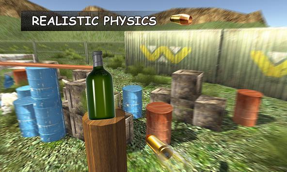 Shoot the Bottles 3D apk screenshot