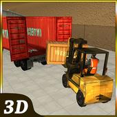 Supermarket Transporter Truck icon