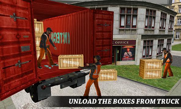 Supermarket Transporter Truck apk screenshot