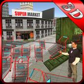 Supermarket Trolley Transport icon