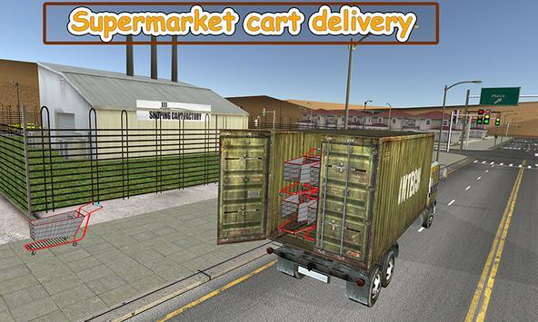 Supermarket Trolley Transport screenshot 3
