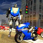 Robot Motorbike Rider icon