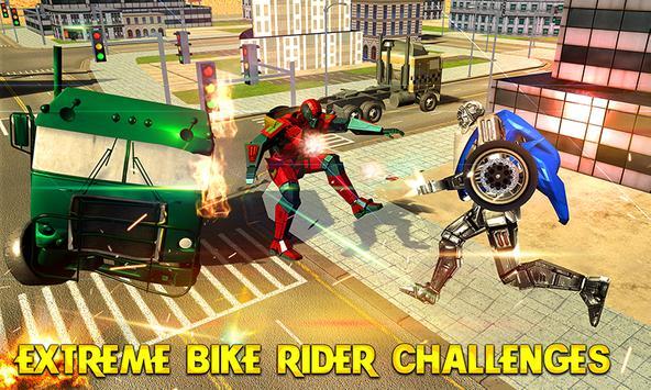 Robot Motorbike Rider apk screenshot