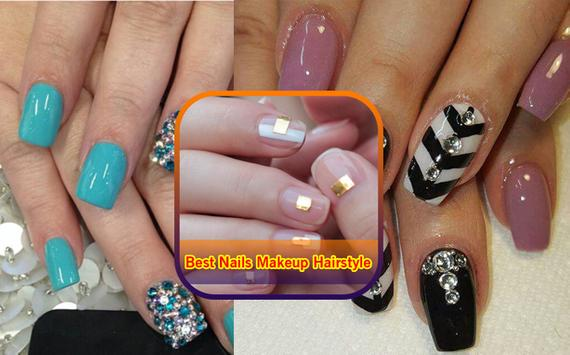 Best Nails.Makeup.Hairstyles poster