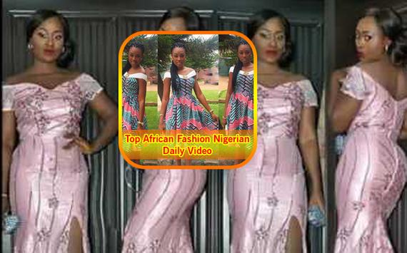 Top African Fashion Nigerian Daily Video poster