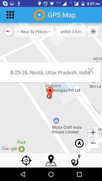 GPS Map - Tracker  Navigation screenshot 3