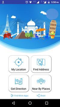 GPS Map - Tracker  Navigation poster