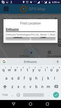 GPS Map - Tracker  Navigation screenshot 2