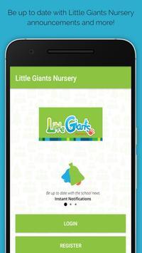 Little Giants German Nursery poster