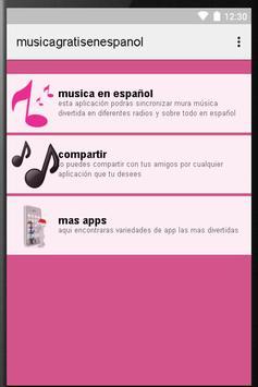 Música Gratis En Español poster