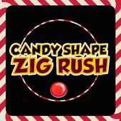 Candy Shape Zig Rush icon