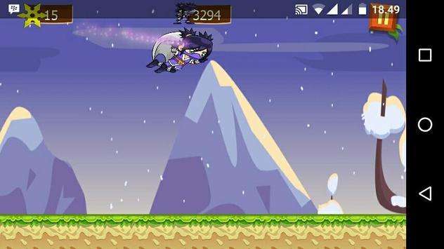Ice Ninja Girl Run apk screenshot