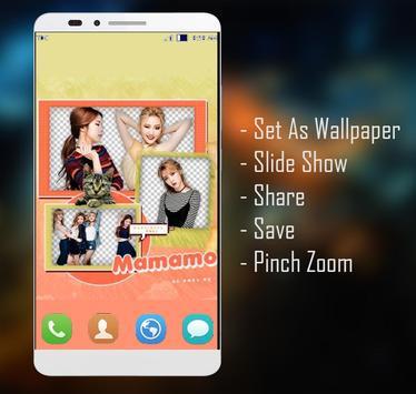 MAMAMOO Wallpaper HD Fans screenshot 4