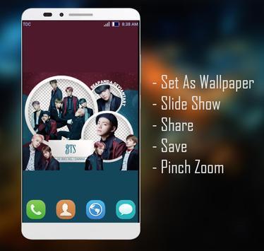 BTS Wallpaper screenshot 2