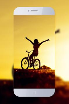 Bicycle Cool Wallpaper poster