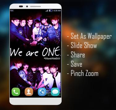 EXO Wallpaper HD Fans screenshot 2