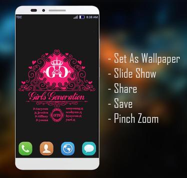 Girls Generation Wallpaper HD Fans screenshot 4