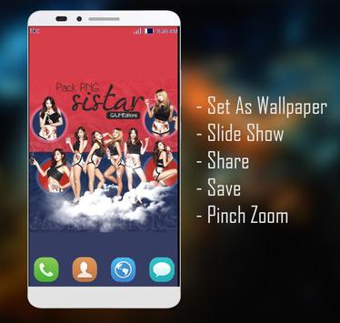 SISTAR Wallpaper HD Fans apk screenshot