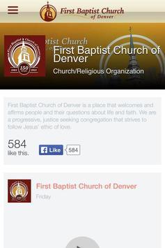 First Baptist Church of Denver screenshot 2