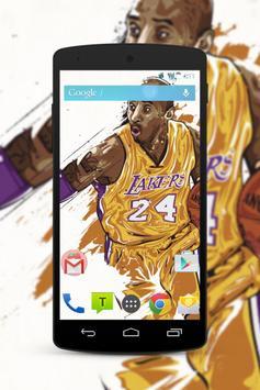 Kobe Bryant Wallpaper Fans HD screenshot 3