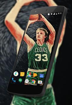 Larry Bird Wallpaper Fans HD poster