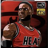 LeBron James Wallpaper Fans HD icon
