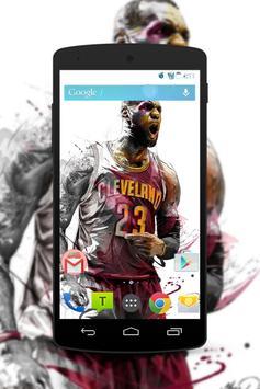 LeBron James Wallpaper Fans HD screenshot 1