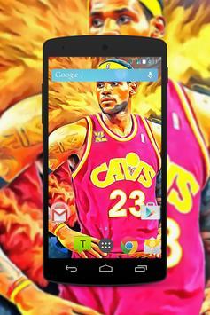 LeBron James Wallpaper Fans HD screenshot 2