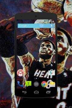 LeBron James Wallpaper Fans HD screenshot 3