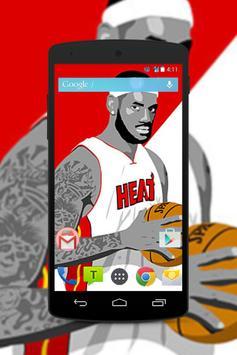 LeBron James Wallpaper Fans HD screenshot 4