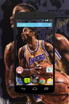 Magic Johnson Wallpaper Fans HD screenshot 4