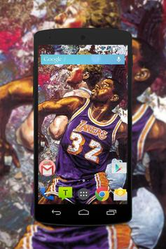Magic Johnson Wallpaper Fans HD poster