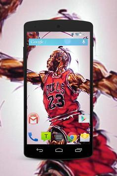 Michael Jordan Wallpaper Fans HD screenshot 1