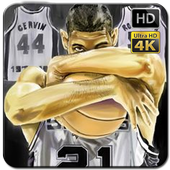 Tim Duncan Wallpaper Fans HD icon