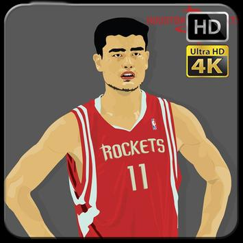 Yao Ming Wallpaper Fans HD poster